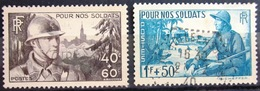 FRANCE               N° 451/452                  OBLITERE - France