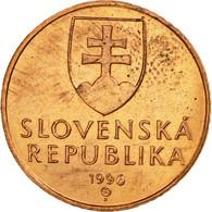 Monnaie, Slovaquie, 50 Halierov, 1996, SUP, Copper Plated Steel, KM:35 - Slovaquie