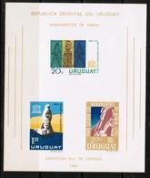 URUGUAY  Scott # 267a** VF NH Souvenir Sheet SS-313 - Uruguay