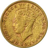 Monnaie, Jamaica, George VI, 1/2 Penny, 1947, Franklin Mint, TB+, Nickel-brass - Jamaique