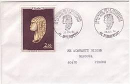 LANDES BRASSEMPOUY CENTENAIRE DECOUVERTE DAME 1994 - Postmark Collection (Covers)
