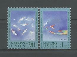 United Nations G. 1998 50th Anniv. Human Rights Declaration Y.T. 368/369 ** - Genf - Büro Der Vereinten Nationen