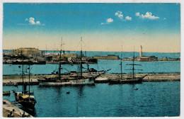 C.P.  PICCOLA      TRIESTE   STAZIONE  DI S. ANDEA  E  LANTERNA     2 SCAN        (NUOVA) - Cartoline
