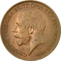 Monnaie, Grande-Bretagne, George V, 1/2 Penny, 1920, TTB, Bronze, KM:809 - 1902-1971 : Monnaies Post-Victoriennes