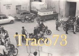 MOTOCICLISTI IN POSA _ PALERMO / Foto Formato 12,5 X 9 - Ciclismo