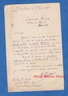 Document Ancien - FORT De FRANCE ( Martinique ) - Lettre De Monsieur P. FROGER , 155 Rue Blénac - 1913 - Manoscritti