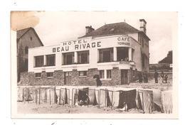 Quiberon - Hôtel Café - Beau Rivage-( Voir Dos )-(C.7380) - Quiberon
