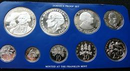 Jamaica  1976 Set Of 1 5 10 20 25 50 1 5 10$ Admiral Nelson Silver - Jamaique