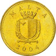 Monnaie, Malte, Cent, 2004, SUP, Nickel-brass, KM:93 - Malta