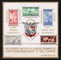 PANAMA  Scott # C 47a** VF NH Souvenir Sheet SS-316 - Panama