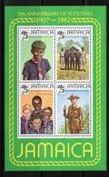 JAMAICA  Scott # 531a** VF NH Souvenir Sheet SS-317 - Jamaica (1962-...)