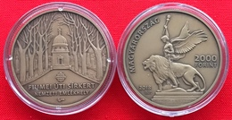 "Hungary 2000 Forint 2018 ""Fiumei Road Cemetery"" BU - Hungary"