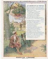 LUNEL ( Hérault) - Pharmacien à LUNEL - Le Lièvre Et La Tortue - Souvenir De L'IODORANGE - Werbung