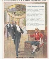 LUNEL ( Hérault) - Pharmacien à LUNEL - Le Geai Paré Des Plumes De Paon - Souvenir De La ZINDINE - Publicités