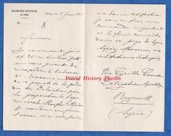 Document Ancien - BEYROUTH ( Syrie ) - Delegazione Apostolica Di Siria - Père Cyrille COUSSA - 1913 - Beirut Liban - Manuskripte