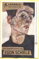 AUSTRIA - ÖSTERREICH - AUTRICHE - Leopold Museum, Wien - Entrance Ticket - Eintritt Vollpreis - Egon Schiele - Used - Biglietti D'ingresso