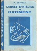 Carnet D'Atelier Du Batiment De 1983 De A  Bruyère  3 Pages  Pour Les Regles De Prudence Et 1er  Soins En Cas D'Accident - Papel Secante