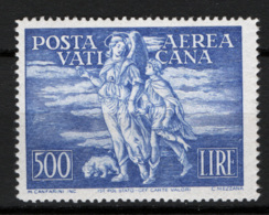 Vaticano 1948 Tobia 500£ Sass. A17 **/MNH VF - Cert.Sorani - Posta Aerea