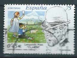 "ESPAGNE SPAIN SPANIEN ESPAÑA  2001 LITERATURE WHITER LEOPOLDO ALAS ""CLARÍN"" ED 3802 YV 3369 MI 3635 SG 3756 SC 3103 - 1931-Hoy: 2ª República - ... Juan Carlos I"