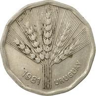 Monnaie, Uruguay, 2 Nuevos Pesos, 1981, TTB, Copper-Nickel-Zinc, KM:77 - Uruguay