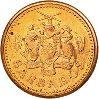 Monnaie, Barbados, Cent, 1991, Franklin Mint, SUP, Bronze, KM:10 - Barbades