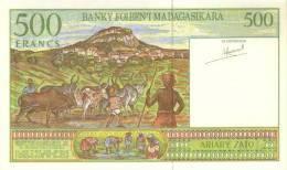 MADAGASCAR P. 75a 500 F 1994 UNC - Madagascar