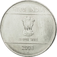 Monnaie, INDIA-REPUBLIC, Rupee, 2008, TTB, Stainless Steel, KM:331 - Indien