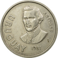 Monnaie, Uruguay, 10 Nuevos Pesos, 1981, Santiago, TTB, Copper-nickel, KM:79 - Uruguay