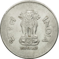 Monnaie, INDIA-REPUBLIC, Rupee, 2002, TTB, Stainless Steel, KM:92.2 - Inde