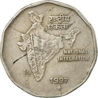 Monnaie, INDIA-REPUBLIC, 2 Rupees, 1997, TB+, Copper-nickel, KM:121.3 - Inde