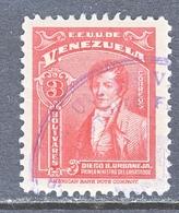 Venezuela  363   (o)  1940-43  Issue - Venezuela