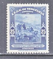 Venezuela  366    **   CROSSING THE  ANDIES    1940  Issue - Venezuela