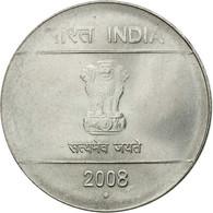 Monnaie, INDIA-REPUBLIC, Rupee, 2008, TTB, Stainless Steel, KM:331 - Inde