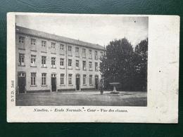 Nivelles-Nijvel/-Ecole Normale-cour-vue Des Classes-190.. - Nivelles