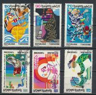 °°° TUNISIA - Y&T N°978/83 - 1982 °°° - Tunisia (1956-...)