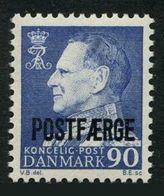 Denmark Q45,MNH. Michel Pf 43. Parcel Post 1970.King Frederik XI. - Denmark