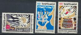 °°° TUNISIA - Y&T N°1035/37 - 1985 °°° - Tunisia (1956-...)