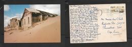 South West Africa, Ghost Mining Town, Kolmanshoop, Used, 16c, LUDERITZ 1988 1 VIII  >S.Africa - Namibia