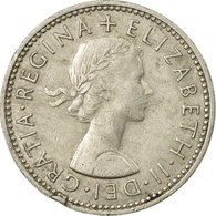 Monnaie, Grande-Bretagne, Elizabeth II, Shilling, 1962, TTB, Copper-nickel - 1902-1971 : Monnaies Post-Victoriennes