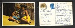 South  Africa, Zulu Girls & Child, Natal, Used 3c BULAWAYO RHODESIA2 JUN 1975    >S.Africa - Africa