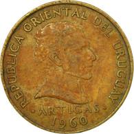 Monnaie, Uruguay, 10 Centesimos, 1960, TB+, Nickel-brass, KM:39 - Uruguay