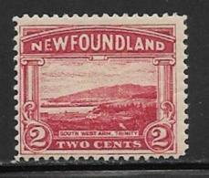Newfoundland, Scott # 132 Mint Hinged Trinity, 1923 - Newfoundland