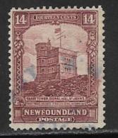 Newfoundland, Scott # 155 Used Cabot Tower, 1928 - Newfoundland
