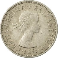 Monnaie, Grande-Bretagne, Elizabeth II, Shilling, 1954, TTB, Copper-nickel - 1902-1971 : Monnaies Post-Victoriennes