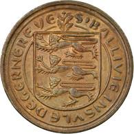 Monnaie, Guernsey, Elizabeth II, Penny, 1977, Heaton, TB+, Bronze, KM:27 - Guernesey