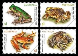 Australia 2018 Mih. 4816/19 Fauna. Frogs MNH ** - 2010-... Elizabeth II