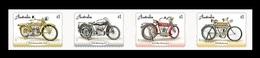 Australia 2018 Mih. 4837/40 Vintage Motorcycles (self-adhesive) MNH ** - 2010-... Elizabeth II