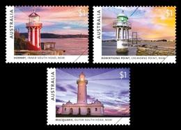 Australia 2018 Mih. 4869/71 Lighthouses Of Sydney MNH ** - Neufs