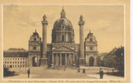AK 0062  Wien - Pfarrkirche Z. H. Karl Borromäus / Verlag Ledermann Um 1911 - Kirchen