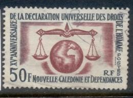 New Caledonia 1963 HR Declaration Of Human Rights FU - New Caledonia